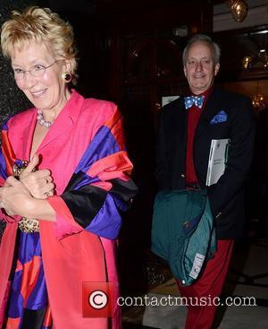 Christine Hamilton and Neil Hamilton Macmillan Centenary Gala, held at the London Palladium - outside London, England - 28.11.11