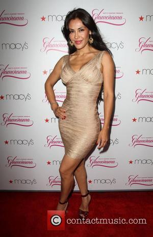 Carla Ortiz Macy's Passport Presents Glamorama 2011 held at The Orpheum Theatre - Arrivals Los Angeles, California - 23.09.11