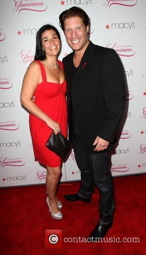 Sean Kanan (R) and guest Macy's Passport Presents Glamorama 2011 held at The Orpheum Theatre - Arrivals Los Angeles, California...