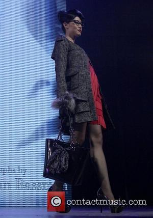 Model, Sharon Stone and Macy's