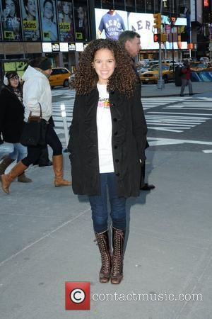 Madison Pettis attends the launch of Disney Junior at Times Square Studios New York City, USA - 10.02.11