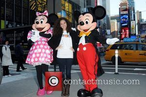 Mickey Mouse and Madison Pettis