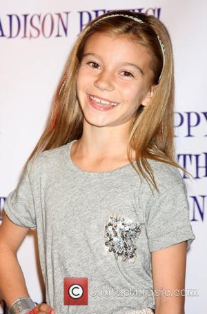 G Hannelius Madison Pettis's 13th birthday party at Eden - Arrivals Los Angeles, California, USA - 31.07.11