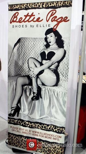 Bettie Page and Las Vegas