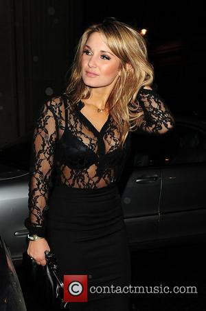 Sam Faiers leaves Mahiki Club London, England - 07.11.11