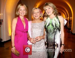 Mariella Frostrup, Amanda Ross and Guest The Man Booker International Prize 2011 at The Banqueting House London, England - 28.06.11