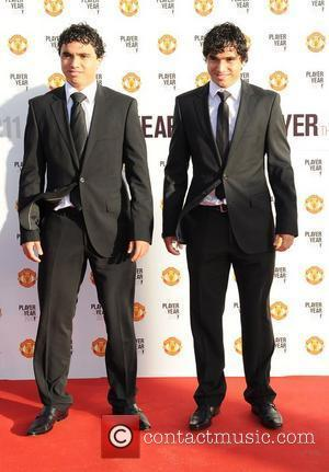Fabio and Rafael da Silva Manchester United Annual Player of the Year Awards held at Old Trafford Football Ground -...