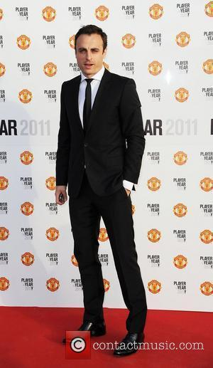Dimitar Berbatov Manchester United Annual Player of the Year Awards held at Old Trafford Football Ground - Arrivals  Manchester,...