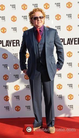 Mick Hucknall  Manchester United Annual Player of the Year Awards held at Old Trafford Football Ground - Arrivals...