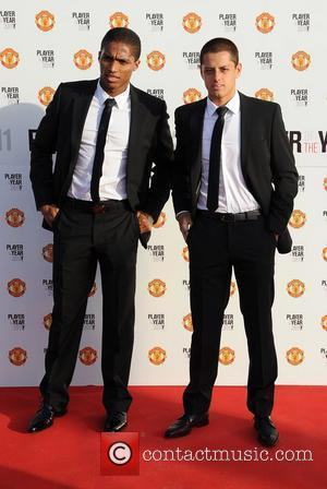 Valencia and Javier Hernandez Manchester United Annual Player of the Year Awards held at Old Trafford Football Ground - Arrivals...