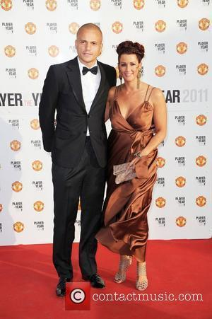 Wes Brown and Leanne Brown Manchester United Annual Player of the Year Awards held at Old Trafford Football Ground -...