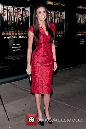 Demi Moore Looks 'Gaunt And Pale' At Margin Call Premiere
