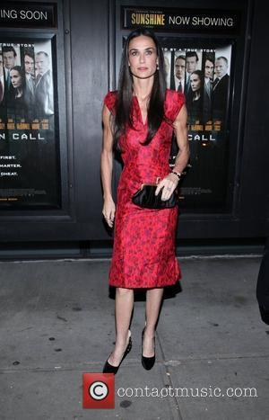 Demi Moore  Premiere of Margin Call held at the Landmark Sunshine Theater - outside arrivals New York City, USA...