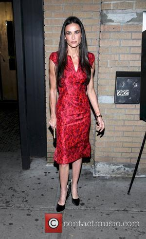 Demi Moore  Premiere of Margin Call held at the Landmark Sunshine Theater - outside arrivals New York City, USA...