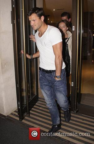 Mark Wright from The Only Way Is Essex leaving the May Fair hotel London, England - 03.05.11