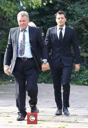 Mark Wright at Redbridge Magistrates Court charged with threatening and abusive behaviour London, England - 03.08.11