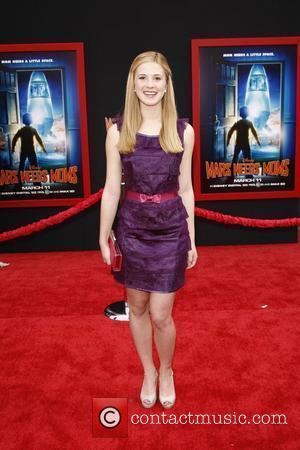 Caroline Sunshine at the Los Angeles premiere of 'Mars Needs Moms 3D' at the El Capitan Theatre. Hollywood, California -...