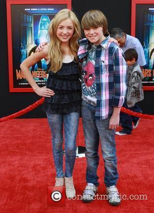 Peyton List, Spencer List at the Los Angeles premiere of 'Mars Needs Moms 3D' at the El Capitan Theatre. Hollywood,...