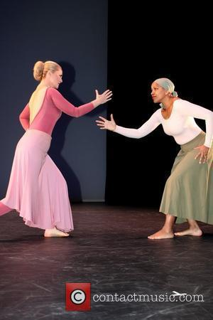 Cornelia Guest and Grace Hightower preview performance for the Martha Graham Dance Company's 85th Anniversary Season - held at Lincoln...