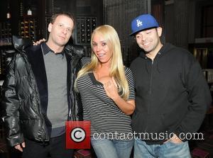 Michael Schulson, Mary Carey and Mario Monge  Mary Carey and her husband Mario Monge have dinner at Eric Ripert's...