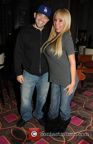 Mario Monge and Mary Carey  Mary Carey and her husband Mario Monge have dinner at Eric Ripert's 10 Arts...