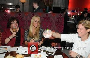 Laura Burkhart, Mary Carey and Jennifer Carroll Mary Carey and her husband Mario Monge have dinner at Eric Ripert's 10...