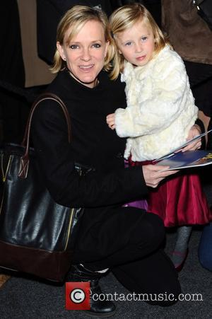 Hermione Norris with her daughter Hero  Matilda The Musical at Cambridge Theatre - Press Night  London, England -...