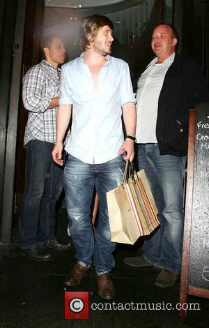 Matthew Wolfenden celebrates his birthday with the cast of 'Emmerdale' Leeds, England - 07.05.11