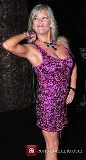 Samantha Fox,  at Liz McClarnon's birthday party at Shaka Zulu. London, England - 13.04.11