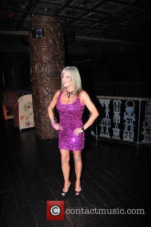 Samantha Fox,  at Liz McClarnon's birthday party at Shaka Zulu. London, England - 13.04.11