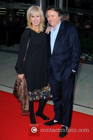 Joanna Lumley and Stephen Barlow McLaren Automotive Showroom - opening at One Hyde Park - Arrivals London, England - 21.06.11