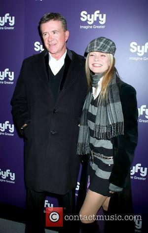 Alan Thicke and Julie Mccullough