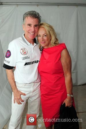 John Walsh and Reve Walsh  Meghan Walsh 'Blank Silk' fashion show at the AMG Miami Beach Polo Cup VII...