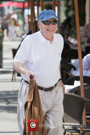 Mel Brooks departs Porta Via restaurant after having lunch with friends in Beverly Hills Los Angeles, California - 09.09.11
