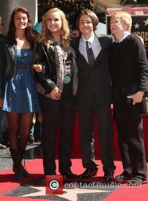 Melissa Etheridge and Star On The Hollywood Walk Of Fame