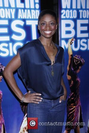 Montego Glover  The Second Anniversary of the Broadway musical 'Memphis' held at the Glass House Tavern.  New York...