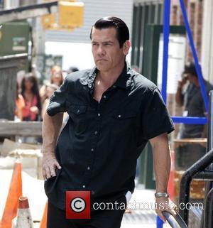 Josh Brolin filming 'Men In Black III' on location in SoHo New York City, USA - 06.06.11