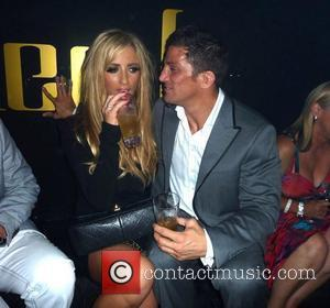Alex Reid and Chantelle Houghton enjoy a night out together at Merah Club London, England - 06.08.11