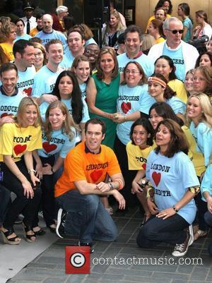 Meredith Vieira, and NBC Staff  The 'Today Show' salutes Meredith Vieira's Last Day with NBC Network New York City,...