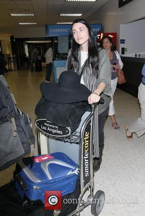 Katie McGrath The stars of international smash hit BBC television show Merlin arrive at LAX on a flight from London...