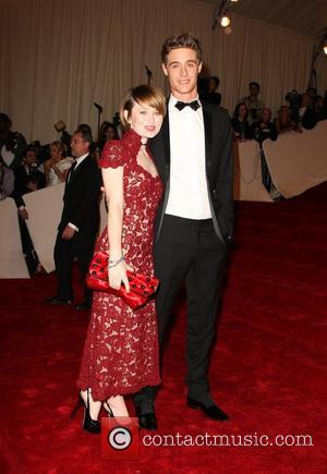 Emily Browning and Max Irons Alexander McQueen: 'Savage Beauty' Costume Institute Gala 2011 at The Metropolitan Museum of Art New...