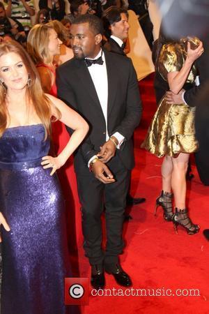 Isla Fisher and Kanye West