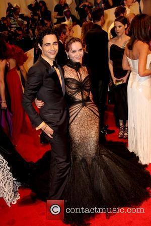 Zac Posen and Christina Ricci