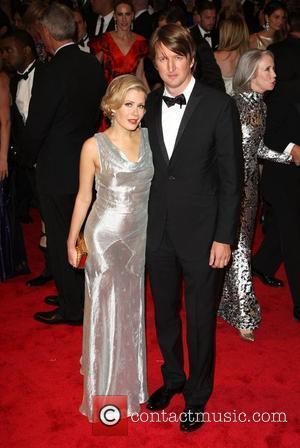 Tom Hooper and wife