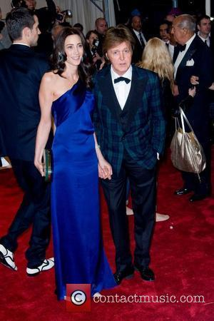 Nancy Shevell, Sir Paul McCartney Alexander McQueen: 'Savage Beauty' Costume Institute Gala at The Metropolitan Museum of Art  New...