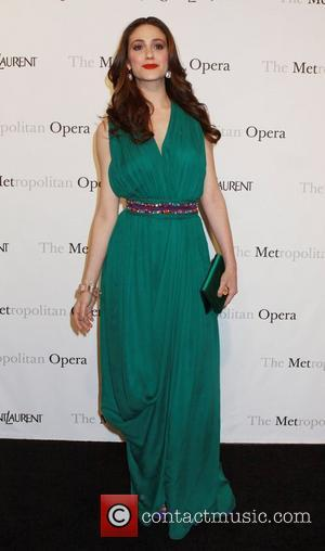Emmy Rossum Metropolitan Opera gala premiere of 'Rossini's Le Comte Ory' - Inside Arrivals New York City, USA - 24.03.11