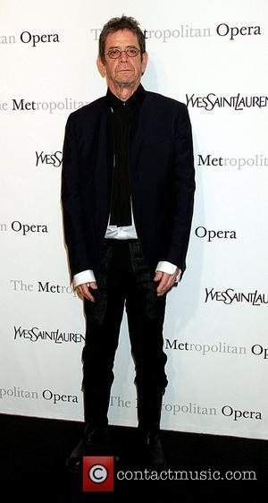 Lou Reed Metropolitan Opera gala premiere of 'Rossini's Le Comte Ory' - Inside Arrivals New York City, USA - 24.03.11