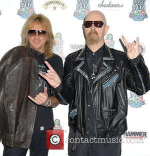 Glenn Tipton and Rob Halford,  at the The Metal Hammer Golden Gods Awards held at Indigo. London, England -...