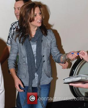 Martina McBride Celebrities at the MGM Grand Hotel & Casino Las Vegas, Nevada - 02.04.11