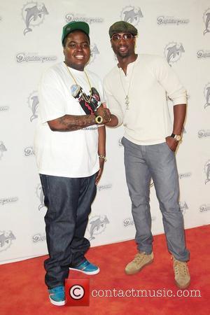 Sean Kingston and Dwayne Wade